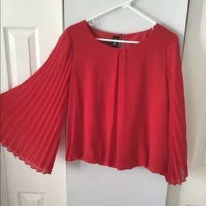 Red blouse size m
